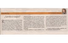SANDIA O VIAGRA: PRIMERA PUBLICACIO0N EN 2008 - ULTIMA HORA